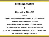 Place Germaine Tallois